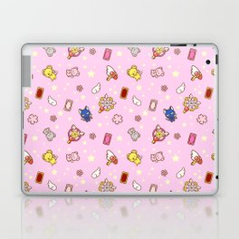 cardcaptor sakura pattern pink Laptop & iPad Skin