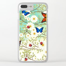 Tiny creatures Clear iPhone Case