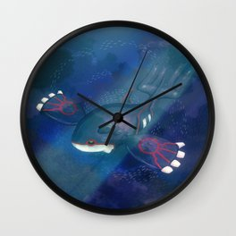 Kyogre One. Wall Clock