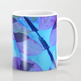 Purple Leaves Coffee Mug