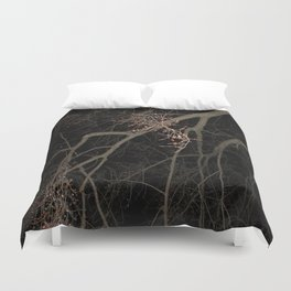 Something is Amists Duvet Cover