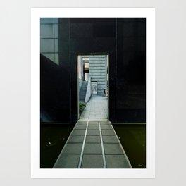 Infinite Door Art Print