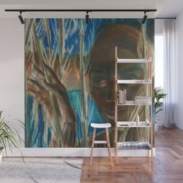 African American Masterpiece 'Night' Portrait by James A. Porter Wall Mural