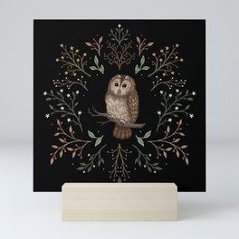Tawny Owl Mini Art Print