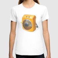 terry fan T-shirts featuring Fan by Lemon Liu
