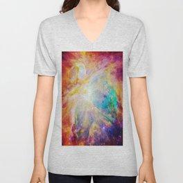 nEBula : Colorful Orion Nebula Unisex V-Neck