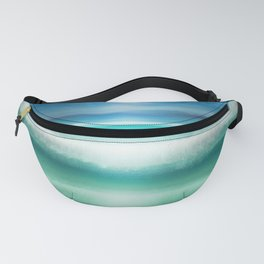 """Blue sky over teal sea South"" Fanny Pack"