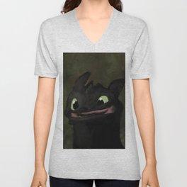 Toothless Grin Unisex V-Neck
