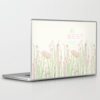 be happy Laptop & iPad Skins featuring HaPPy by Monika Strigel