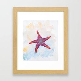 Hoopless: Washed Up Star Framed Art Print