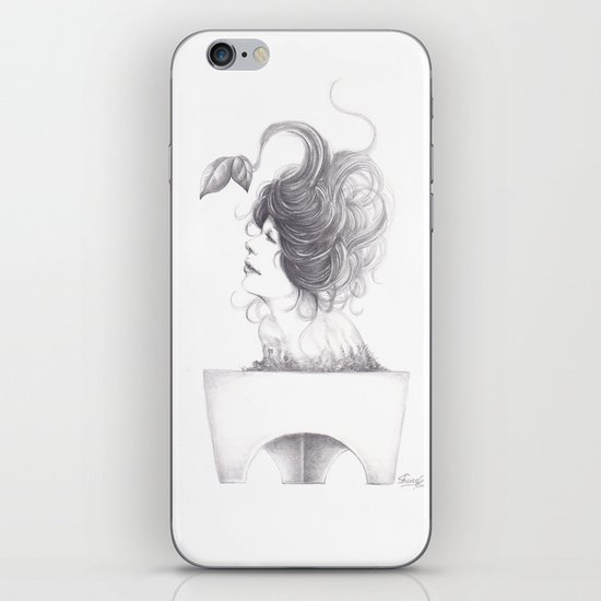 Sleeping Forest iPhone & iPod Skin