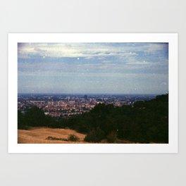 Analog series: Bologna Art Print