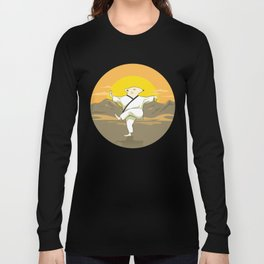 Tai Chi Mouse Long Sleeve T-shirt
