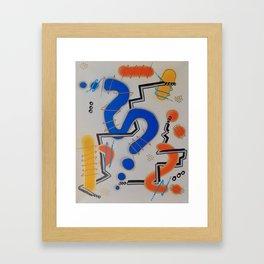 Mathematics Framed Art Print