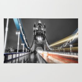 Tower Bridge at night Rug