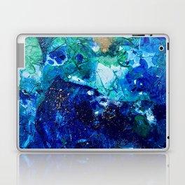 Look Down As The Rain Falls Into The Sea Laptop & iPad Skin