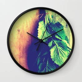 Lemon Balm interior Wall Clock