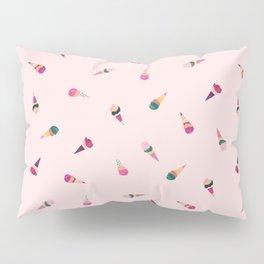 Delicious ice cream cones Pillow Sham
