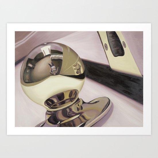 Doorknob #3 Art Print
