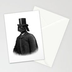 Lord Vadersworth (mono) Stationery Cards
