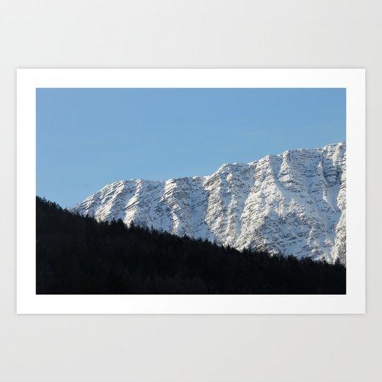 3 Elements - Hallstatt, Austria Art Print