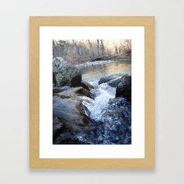 Brisk Framed Art Print