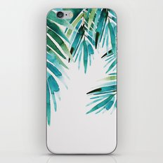 Under palm trees iPhone Skin