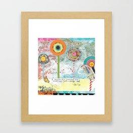 Dreamtime Journey Framed Art Print
