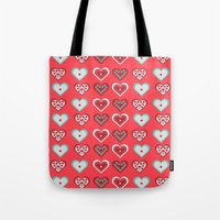 valentine Tote Bags featuring Valentine by Heaven7