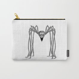 spider . black and white . art Carry-All Pouch