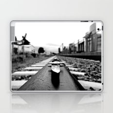 Train track stiletto Laptop & iPad Skin