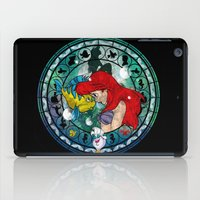 ariel iPad Cases featuring Ariel by Mazuki Arts