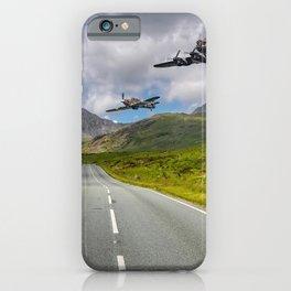 Lancaster Bomber in Snowdonia iPhone Case