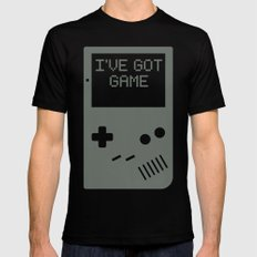 I've got Game, Boy. Mens Fitted Tee Black SMALL