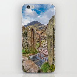 Gate To Tryfan Snowdonia iPhone Skin