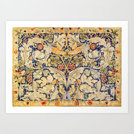 """William Morris """"Acanthus and vine"""" 1. Art Print"""