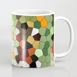 Jungle Mosaik pattern Design Coffee Mug
