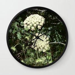 Queen Anne's Lace II Wall Clock