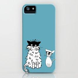 Ninja cats iPhone Case