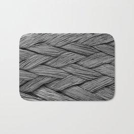 Steel Braided Strap Bath Mat