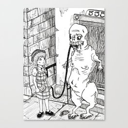 Monsters, No. 3 Canvas Print