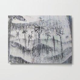 Greyscale paradise Metal Print