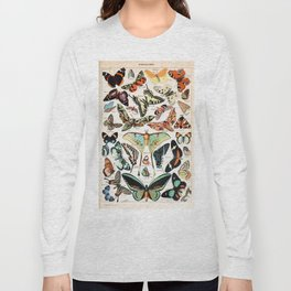 Adolphe Millot - Papillons pour tous - French vintage poster Long Sleeve T-shirt