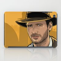 indiana iPad Cases featuring Indiana by Akyanyme