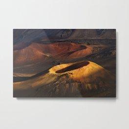 Haleakala Crater 2 Metal Print