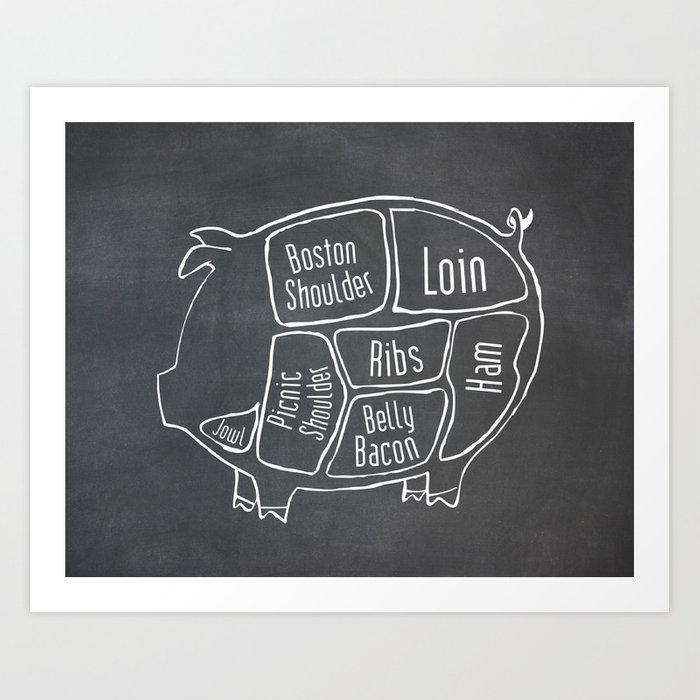pork butcher chart - Heart.impulsar.co