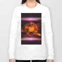 pentagram Long Sleeve T-shirts featuring Pentagram  by nicky2342