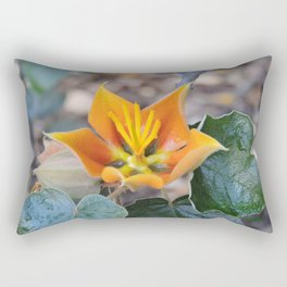 Fremontodendron Blossom Rectangular Pillow