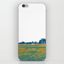 Seaview Kingsway in Turquoise iPhone Skin