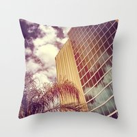 florida Throw Pillows featuring Florida by wendygray